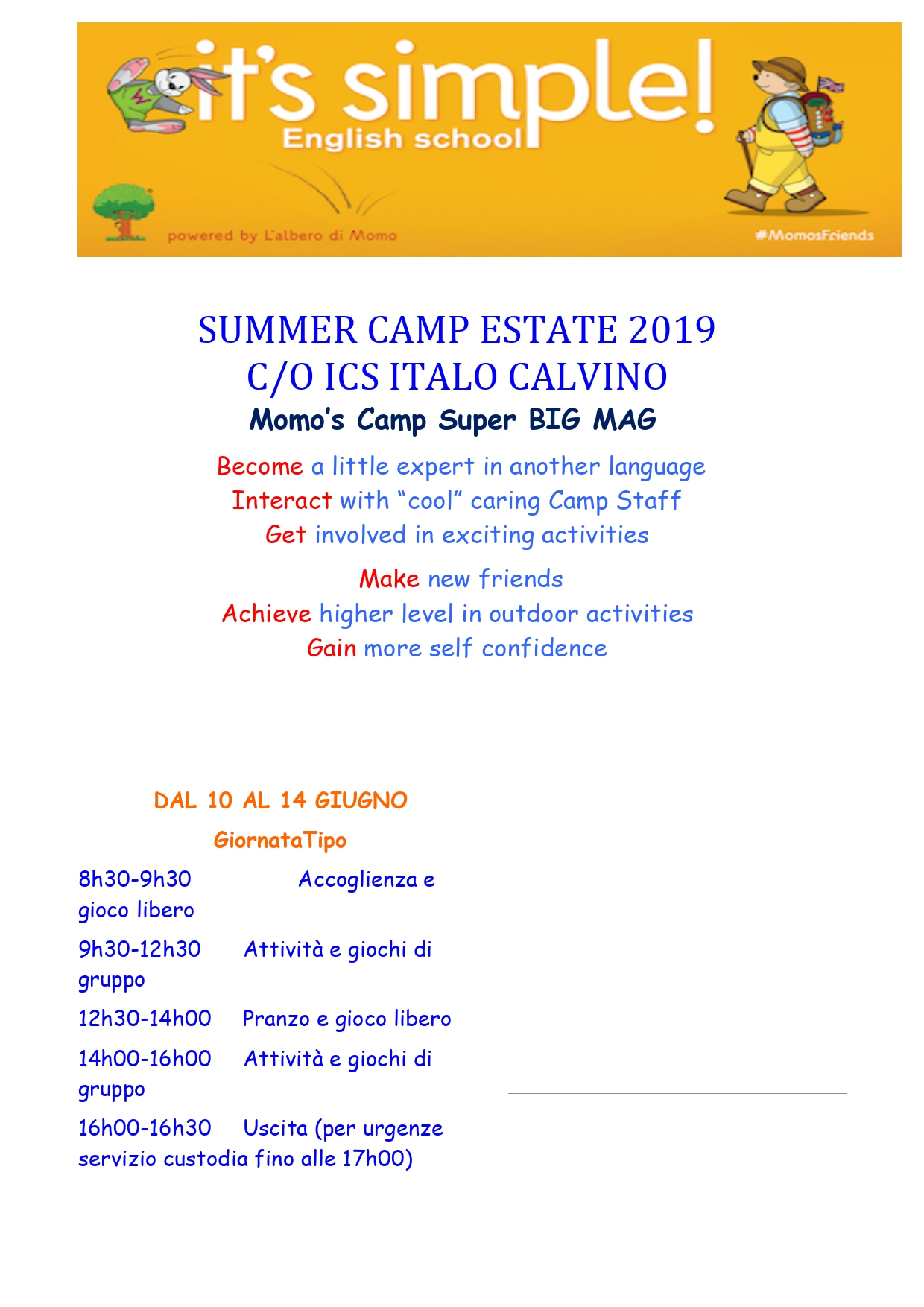 Its Simple SUMMER CAMP ESTATE 2019 page 0001